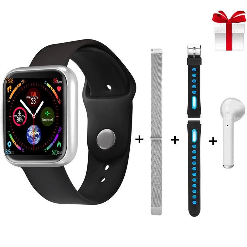 P70 hommes femmes Bracelet intelligent Smartwatch IP68 étanche montre fréquence cardiaque santé Tracker pour Android IOS Sport Bracelet + cadeau