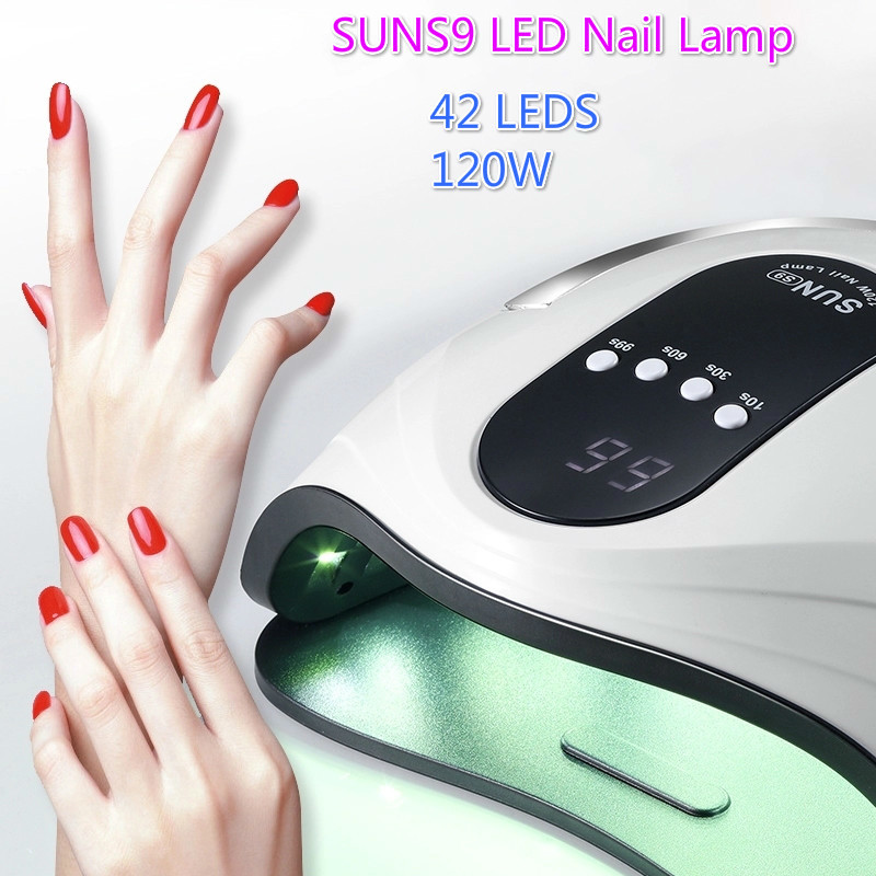 Brand New 86W UV Lamp Nail Dryer Pro UV LED Gel Nail Lamp Fast Curing Gel Polish Ice Lamp For Nail Manicure Machine image