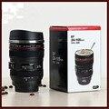 Новый 24-105 мм Объектив Термос камера путешествия кофе чайная чашка  кружка объектив оригинальная бутылка Нержавеющая сталь Матовый лайнер ч...