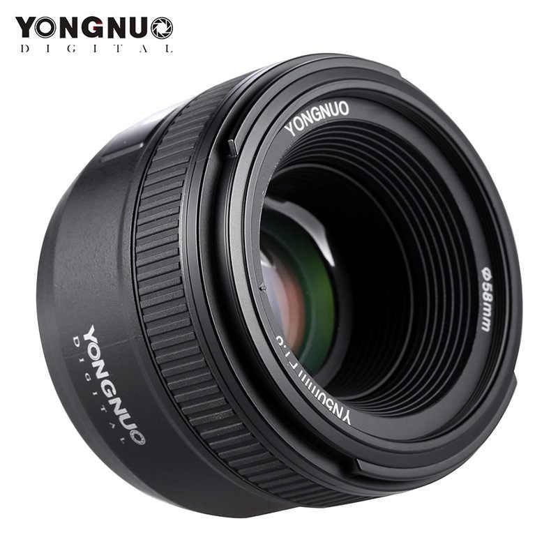 YONGNUO YN50mm F1.8 Large Aperture Auto Focus Lens For Nikon D800 D300 D700 D3200 D3300 D5100 D5200 D5300 DSLR Camera Lens