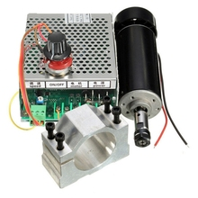 Milling Motor Power-Converter Engraving Spindle-Speed 52mm-Clamp Cooled 500W And Air
