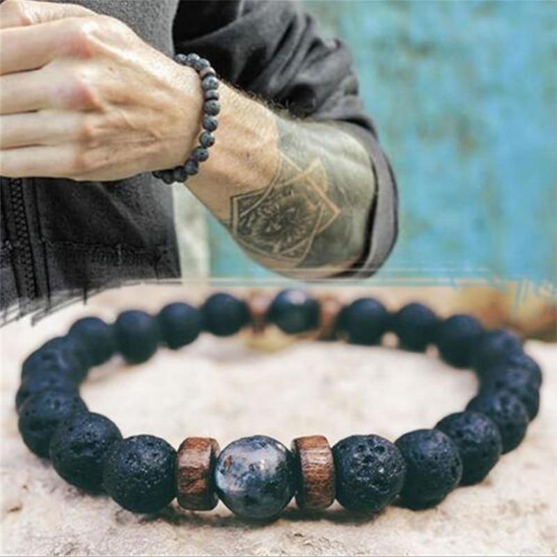 mens bracelet men jewelry women bracciali natural stone beads bracelet braclets bracelete accesorios hombre bracciale armbanden