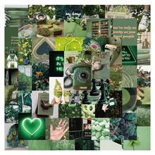 56 sztuk piękna zielona sceneria dziewczyna kwadratowa naklejka świeże DIY motocykl deskorolka Notebook walizka naklejka Graffiti naklejka F5 tanie tanio SIKOMOLE CN (pochodzenie) 12 + y 4-6y 7-12y About 5 cm Cartoon about 0 032kg SL-DD070 None Children Gift New style Decorate