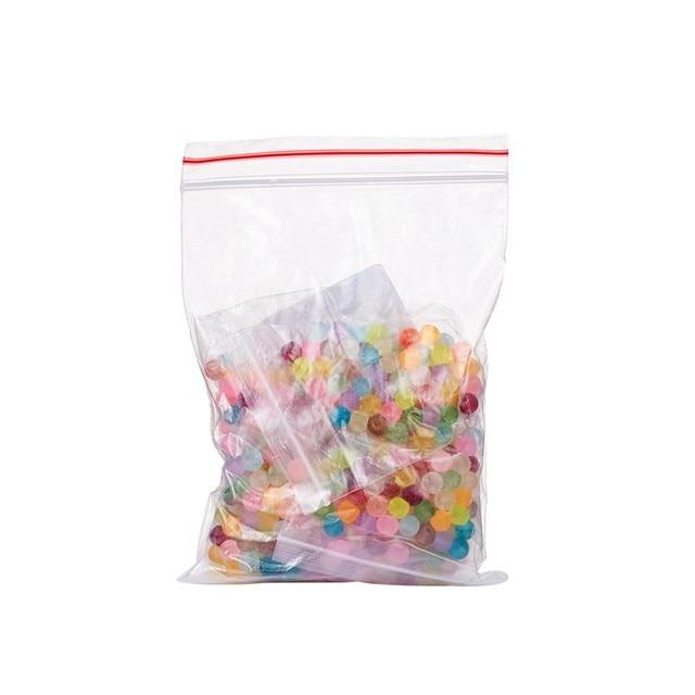 500 шт разноцветные круглые прозрачные матовые стеклянные бусины фотография