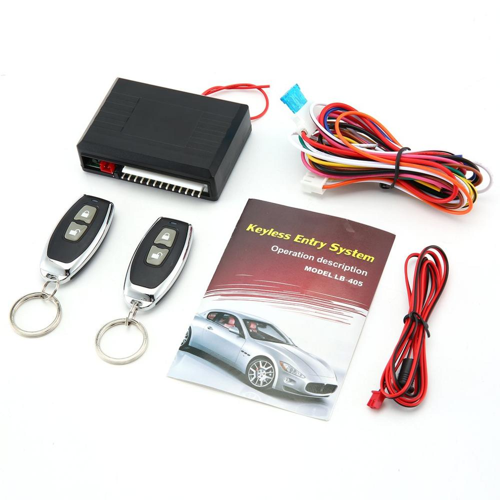 LB-405 Universal Car Kit Remote Control Central Door Lock Locking Vehicle Keyless Entry System Security