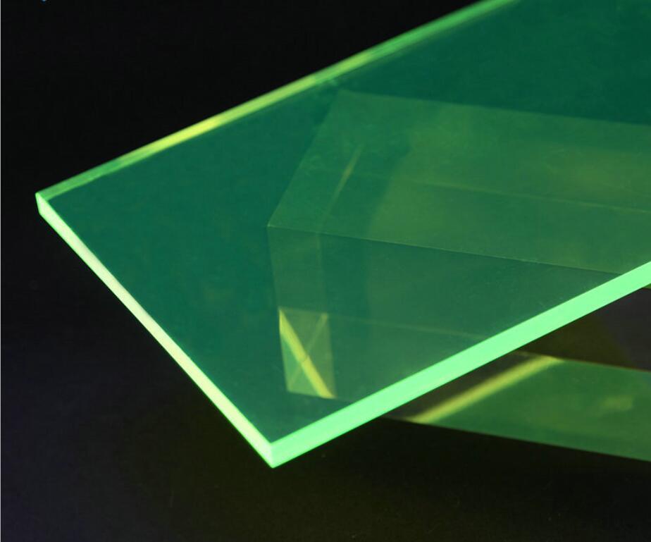 Neon Fluorescence Translucence Acrylic(PMMA) Plexiglass 5mm Multipurpose Oргстекло Plate For Signs,Shelving,Storage Box