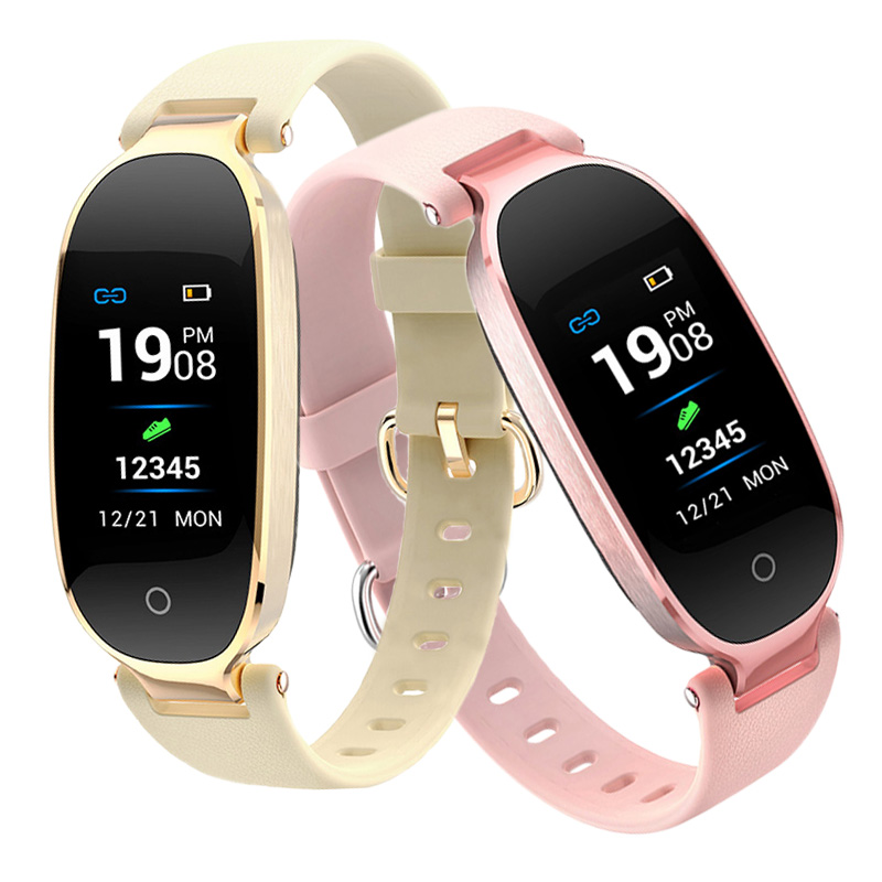 S3plus Sport Women Smart Bracelet Fitness Wristband Heart Rate Monitor Pedometer Smartband for Ladies Girl Xiaomi mi 2 3 4 Band image