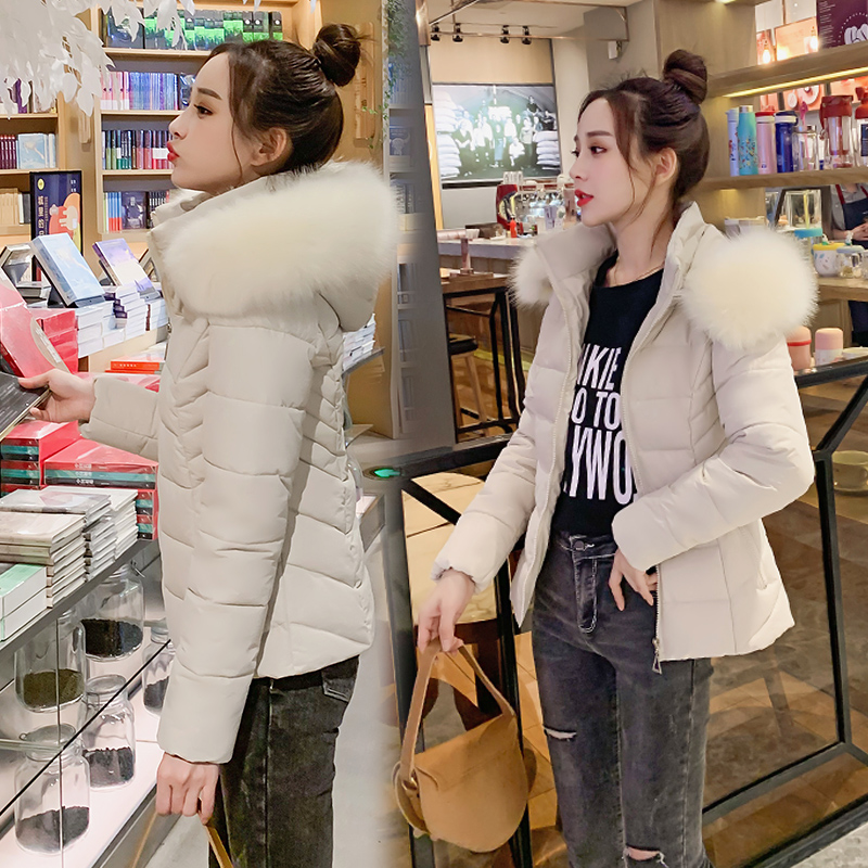 women winter hooded warm coat cotton padded jacket female parka womens wadded jaqueta feminina slim parkas