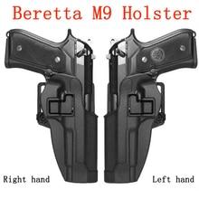 CQC Systematic Left/Right Hand Beretta M9 M92 M92F M96 Holster Gun case pistol Airsoft Holsters Belt waist Hunting Equipment
