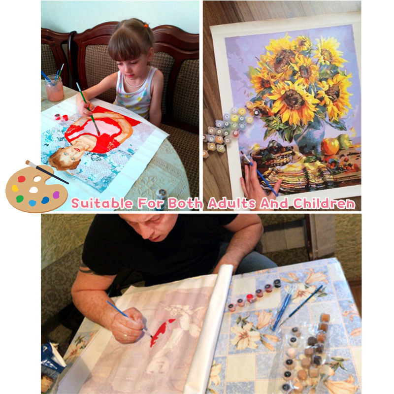 Personality Photo Customized DIY Oil Paint Paintings By Numbers Picture Drawing by Numbers Canvas Coloring by Personality Photo Customized DIY Oil Paint Paintings By Numbers Picture Drawing by Numbers Canvas Coloring by Numbers Acrylic