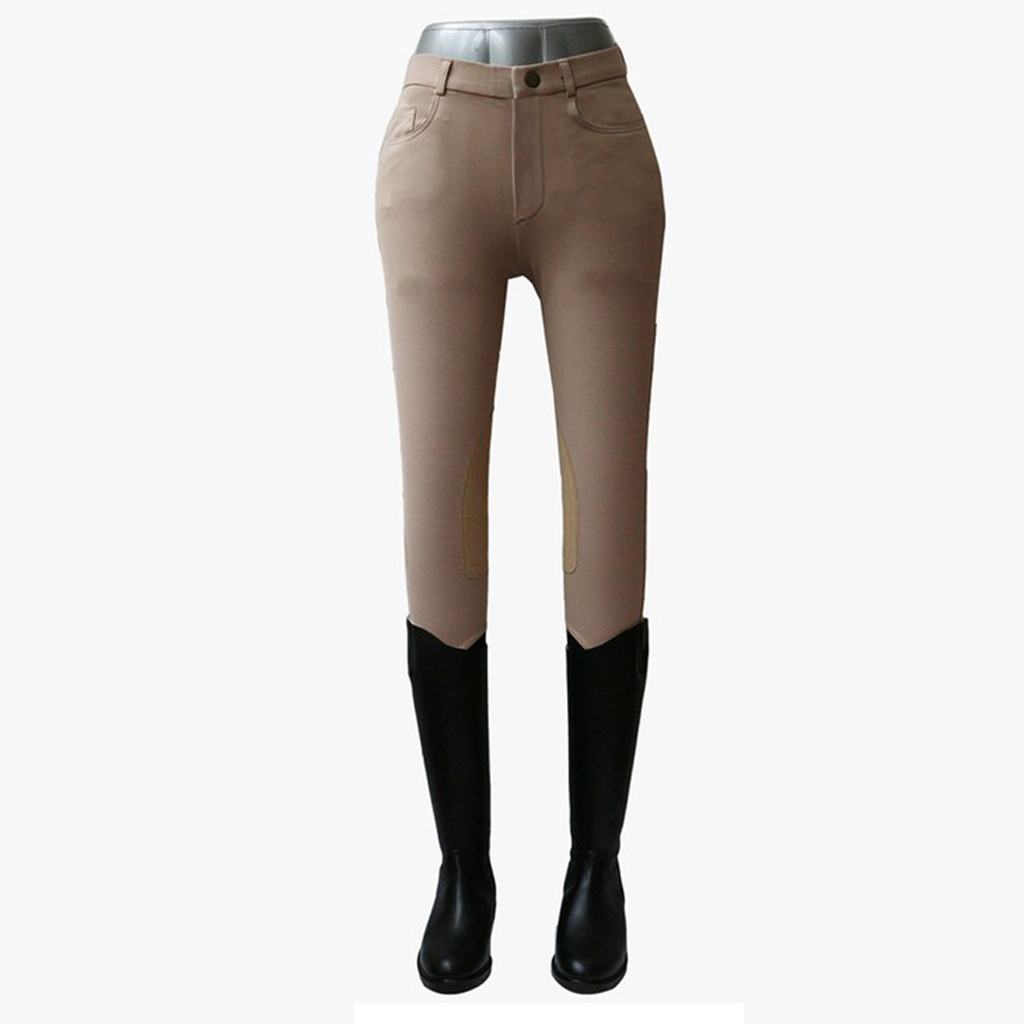 Mens Womens Horse Riding Jodhpurs Full Seat Knee Patch Riding Breeches Pants Equestrian Equipment