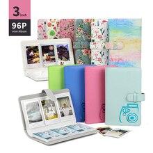 96 Pockets 3 Inch Photo Album for Fujifilm Instant Mini 8 Films Instax camera 9 7s 70 25 50s 90 Name Card Book