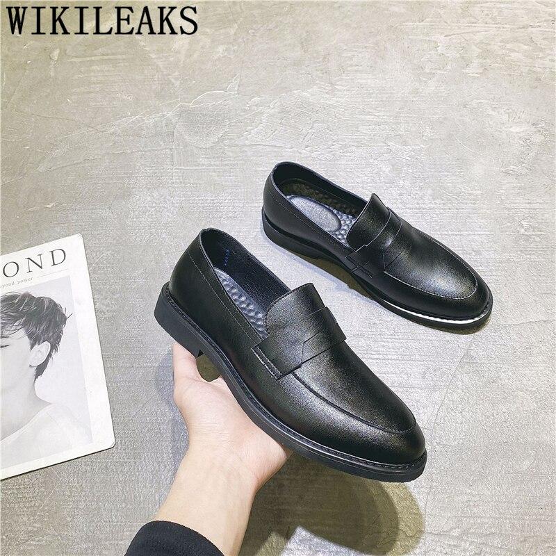 Men Shoes Formal Classic Ayakkabi Slip-On Sepatu Pria Chaussure Erkek Homme
