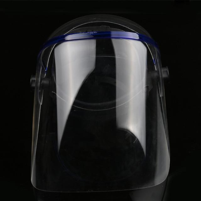 Protective Anti-shock Welding Helmet full Face Shield Solder Mask Plexiglass Face Eye Protect Shield Anti-UV Saliva Safety Masks 4