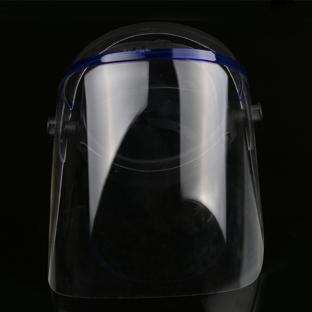 Shock Dust Proof Welding Helmet Solder Mask Face Eye Protective Shield Anti-UV Anti-Saliva Safety Masks Full Face Shield Mask 4