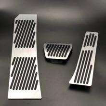 Für BMW Z4 E85 E86 E89 Aluminium legierung Gas Kraftstoff Bremse Fußstütze Pedal Platte Pad ZU Auto Zubehör