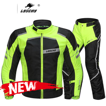 LYSCHY Motorcycle Jacket Moto Waterproof Reflective Jacket Protective Gear Men Motorbike Riding Jacket Chaqueta Moto Clothing motorcycle jacket men summer moto protective gear jacket men racing reflective oxford clothing motorbike jackets