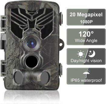 HC-810A 1080P 20MP HD Hunting Wildlife Camera Scouting Trail Camera Wildview PIR Motion Night Vision Camera Home Safe Game Cam недорого