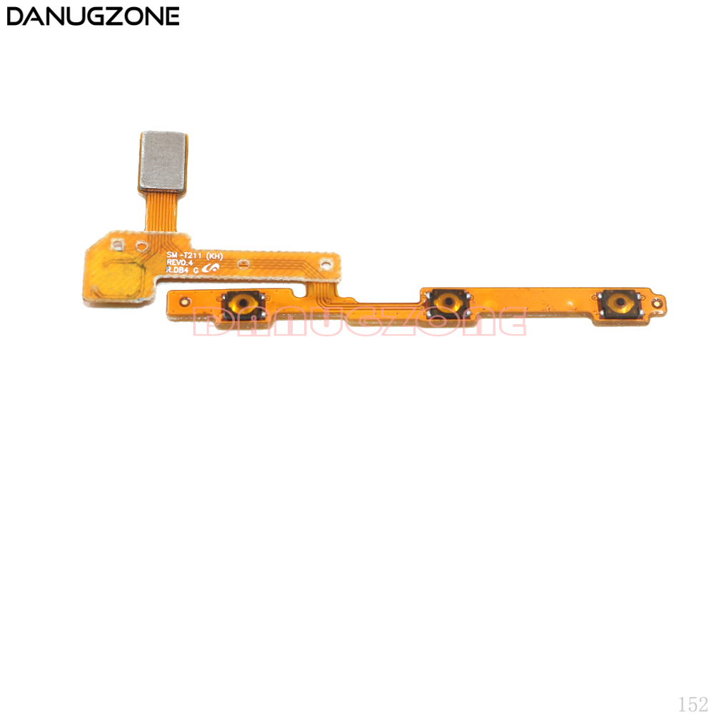 Power Button On / Off Volume Mute Switch Button Flex Cable For Samsung Galaxy Tab 3 7.0 T211 SM-T211