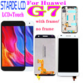 AAA + 5.5 pour Huawei Ascend G7 G7-L01 G7-L03 écran LCD avec numériseur d'assemblage d'écran tactile avec remplacement de cadre