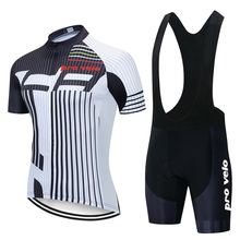 2019 Pro Team Velo New Cycling Jersey Sets Mens Green/White/Black Breathable Clothing Mtb Bike Road Bicycle Kits