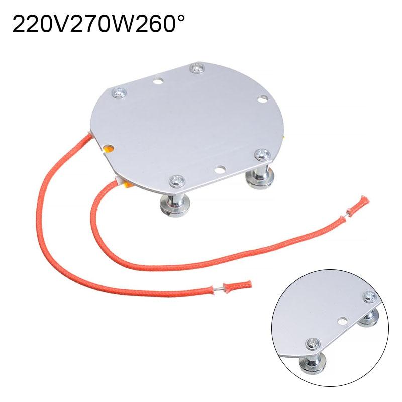 74*63*7 мм 220 В светодиодный очиститель BGA снос чип сварочная паяльная станция Отопление PTC доска алюминий PTC нагревательная пластина