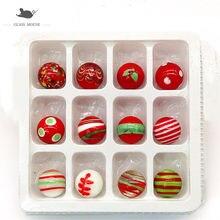 18 мм красные шарики ручной работы из стекла амулеты аксессуары