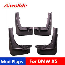 Car Mud Flaps For BMW X5 2003-2006 2008-2020 Mudflaps Splash Guards Mud Flap Mudguards Fender(China)