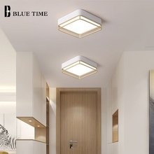 Square/Round 24cm  Finished Modern led Ceiling lights metal body for bedroom aisle corridor balcony living room Ceiling lamp
