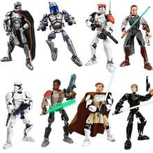 цена на KSZ Star Wars Building Blocks Bricks Figure ToysStar Plan Wars Toys For Children