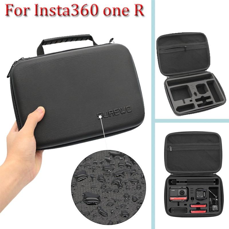 Для Insta360 ONE R Twin Edition Портативная сумка для хранения Insta 360 ONE R 360 mod/ 4k широкоугольный чехол для камеры аксессуары