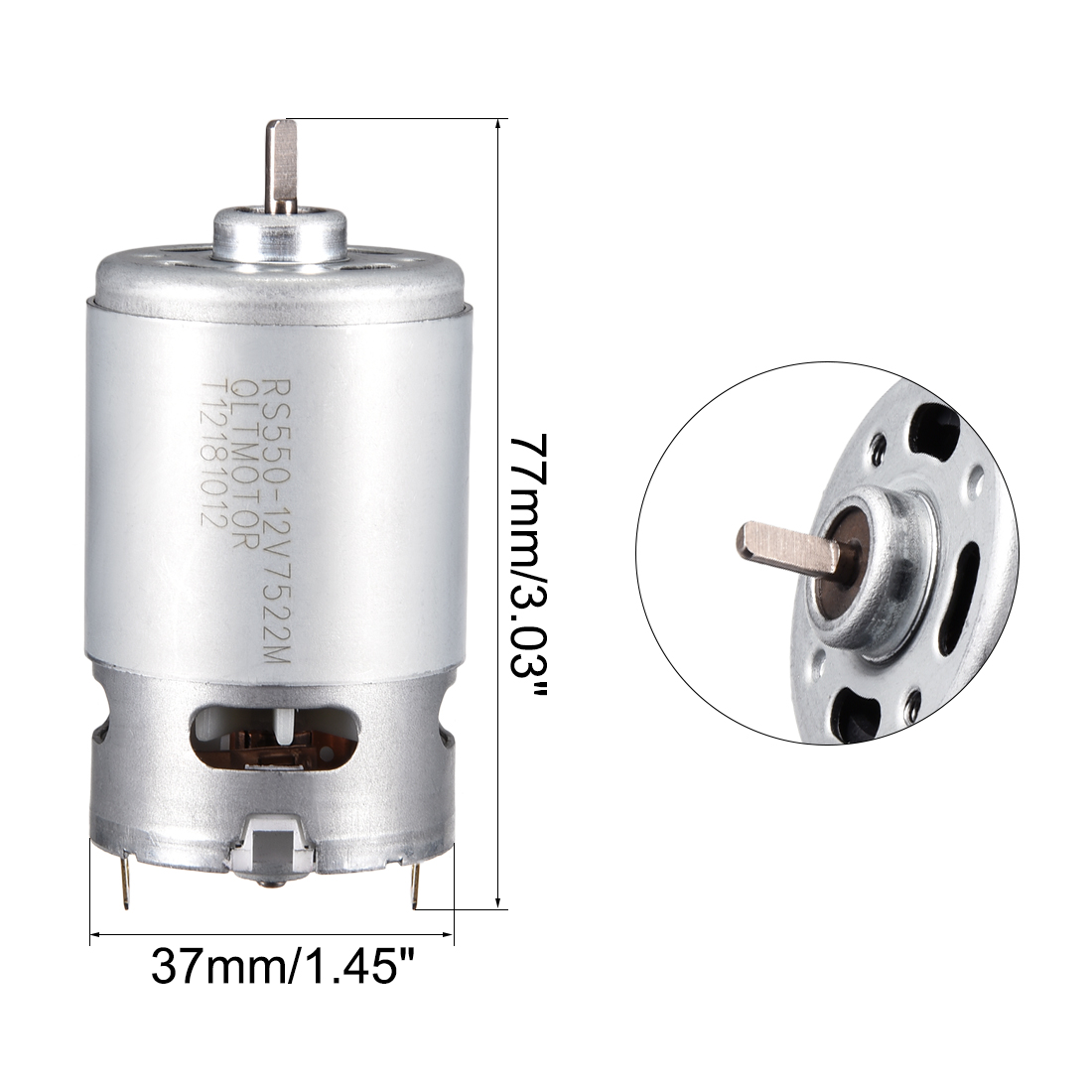Robots,Power Tool Replacement Engine uxcell 12V 21000RPM DC Motor for DIY Electronic Drills
