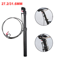 27.2 / 31.6mm Mountain Bike Hand Control Wire Control Lift Seatpost Saddle Post|Bicycle Seat Post| |  -