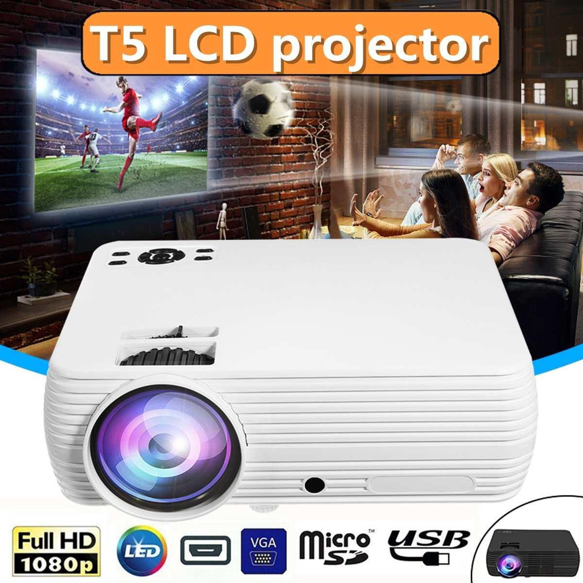 7000 Lumens projecteur Android 6.0.1 Wifi sans fil affichage Home cinéma Proyector soutien Full HD 1080P 4K vidéo avec HDMI - 1