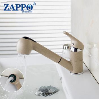 ZAPPO łazienka umyć włosy kran pojedynczy uchwyt gałka w dół kuchnia Tap360 stopni marmuru ciepłej i zimnej krany kran z mieszaczem wody tanie i dobre opinie Torayvino NONE CN (pochodzenie) 2 kg Płyta ceramiczna szpuli Współczesna Deck mounted 92425 000 Pojedynczy uchwyt pojedynczy otwór