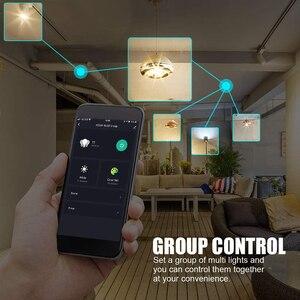 15W WiFi смарт лампы B22 E27 LED RGB светильник лампы работать Alexa Google Home с цветовой моделью RGB + диммируемая на пульте управления Управление Colore светильник волшебный шарик|Светодиодные лампы и трубки|   | АлиЭкспресс