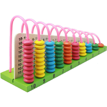 Kids Wooden Toys Child Abacus Counting Beads Maths Learning