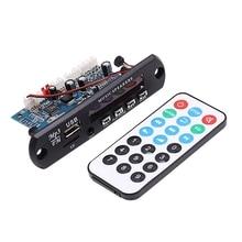 HOT 2.0 Channel Bluetooth Amplifier Board Stereo 10W*2 MP3 Decoder Support FM APE MP3 WAV WMA USB Sound Card APP 12V