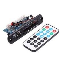 Quente 2.0 canais bluetooth placa de amplificador estéreo 10w * 2 mp3 decodificador suporte fm ape mp3 wav wma usb placa de som app 12v