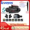3 ''kamera samochodowa IPS ukryty wideorejestrator podwójny obiektyw Dashcam HD Night Vision podwójne nagrywanie przednie wewnętrzne lustrzane kamery A68