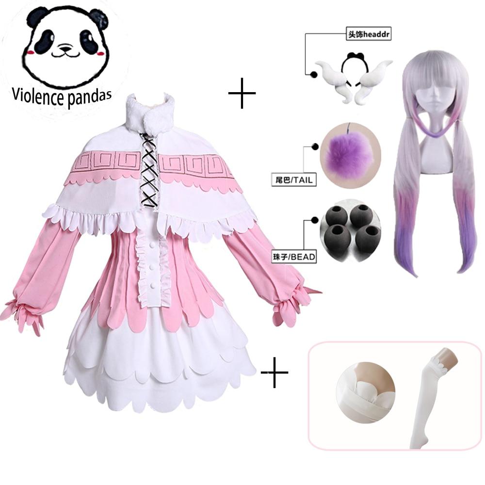 Kanna Cosplay Japanese Anime Miss Kobayashis Dragon Maid Kamui Costumes Halloween Party Kawai Dress For Women