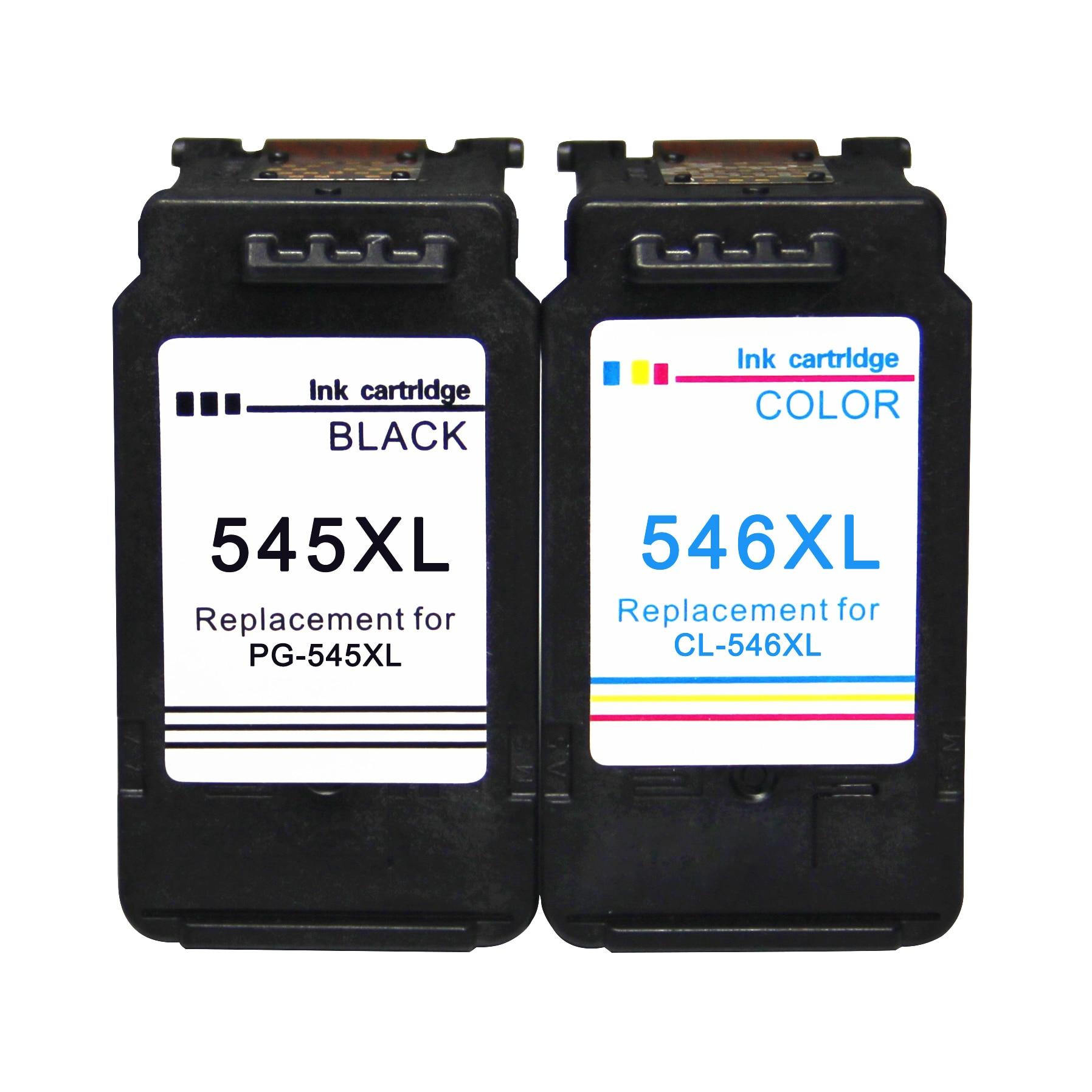 Compatível PG-545XL CL-546XL para Canon PG 545 CL 546 Cartuchos de tinta Canon PIXMA MG2550 3050 MX495 IP2850 TS3150 TS3151