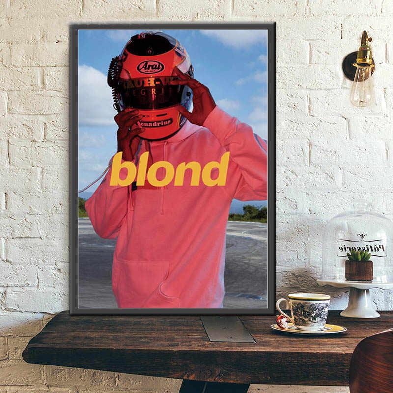 Frank Ocean affiche rappeur musique Star blonde affiches et impressions mur Art toile peinture image pour Bar chambre décor à la maison