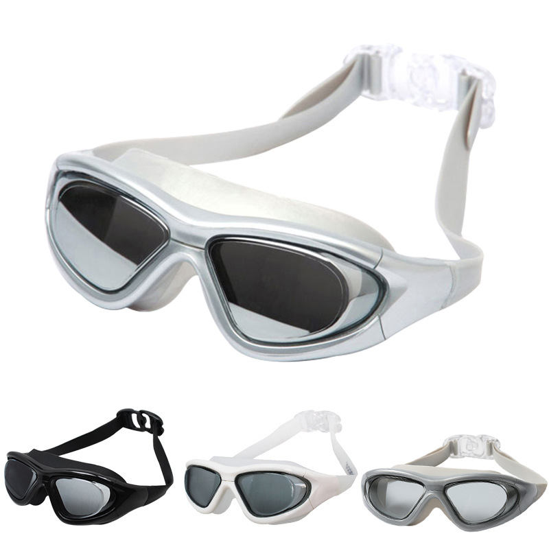 Diving Glasses Waterproof Anti-fog Big Box High-definition Swimming For Both Men And Women Adult Mirror Racing Adult Goggles