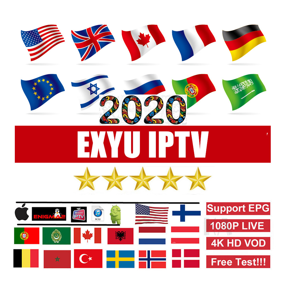 EXYU IPTV M3U Subscription Europe EX YU Sports Pink HD Live TV Bosnia Slovenia Makedonia With Adults For IPTV Smarters Smart TV