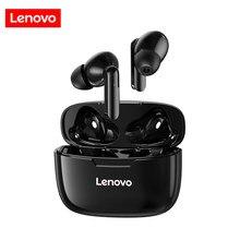 Lenovo XT90 Bluetooth 5,0 Drahtlose Kopfhörer Sport Kopfhörer Touch Control IPX5 Wasserdichte Ohrstöpsel mit 300mAh Lade Box