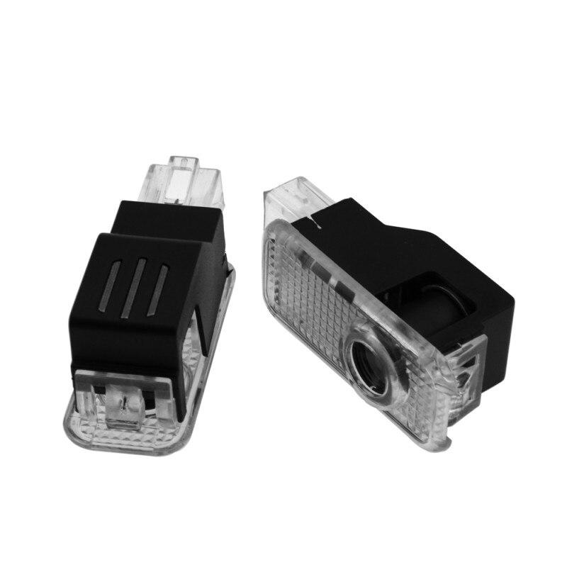 2X светодиодный Двери Автомобиля Светильник проектор тень призрак светодиодные лампы для AUDI A1 A3 A4 B5 B6 B7 B8 B9 A5 C5 A6 C6 C7 S3 S4 S5 S6 A7 A8 Q2 Q3 Q5 Q7