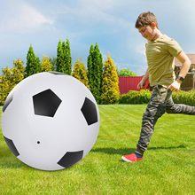 1pc novo tipo especial enorme preto e branco futebol saltando brinquedos crianças festa ao ar livre entretenimento esportes alegria brinquedos jogo presentes