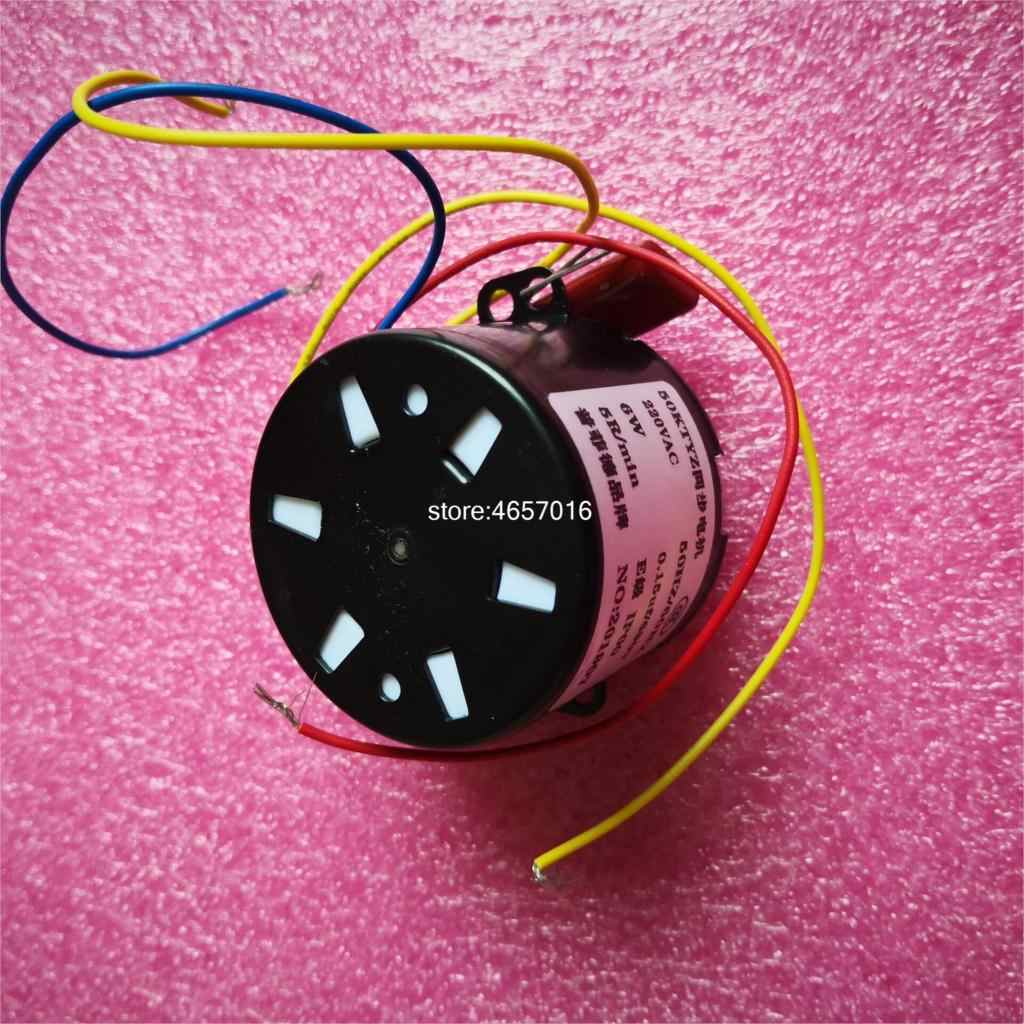1 шт. 50ktyz 220V переменного тока мощностью 6 Вт 1 об/мин/2,5 об/мин/5 мин/10 об/мин/15/30rpm/50 rpmpermanent магнит синхронный Шестерни мотор