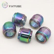 Tubos de vidro para vaporesso luxe s, conjunto com 22 tanques de arco-íris